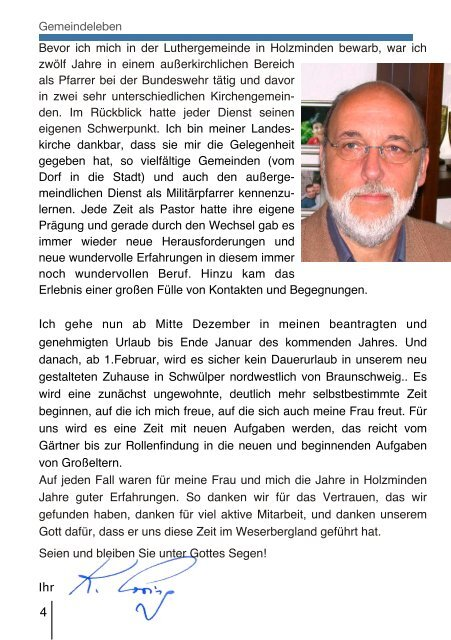 Ausgabe Dezember 2010 - Februar 2011 - Ev.-luth ...