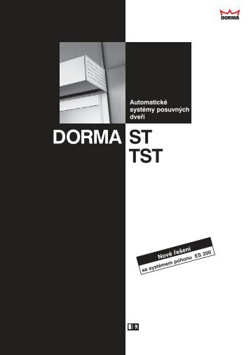 Dorma ST, TST + ES 200 - Sinai