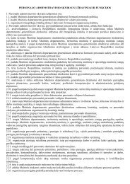Personalo administravimo skyrius - Lietuvos Respublikos muitinė