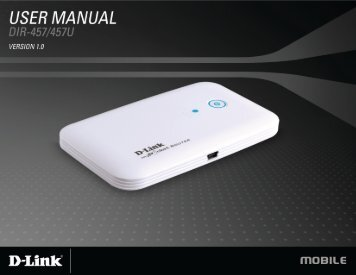 A D-Link DIR-457/DIR-457U User Manual