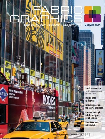 Fabric Graphics, March April 2010, Digital Edition