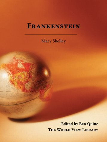 Mary Shelley - Cornerstone Curriculum