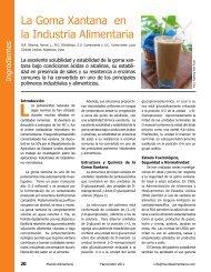 La Goma Xantana en la Industria Alimentaria - AlimentariaOnline