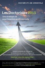 Les Doctoriales 2013