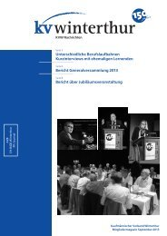 September 2013 (PDF, 2522 kb) - KV Winterthur
