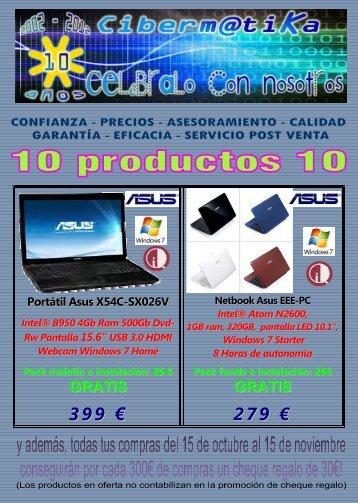 Catalogo 10 aniversario Cibermatika web