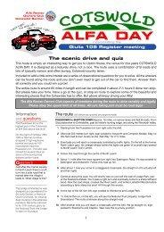 this link - Alfa Romeo Owners Club