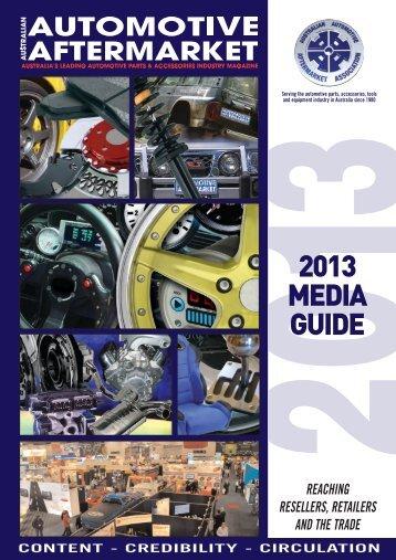 AM Media Guide 08 - Australian Automotive Aftermarket Magazine