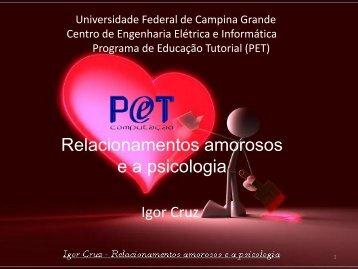 Relacionamentos e Psicologia