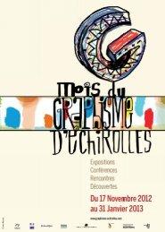Échirolles, mois du Graphisme 2012, invitation
