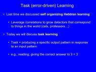 Task (error-driven) Learning