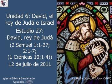 2da Samuel - Iglesia Biblica Bautista de Aguadilla, Puerto Rico