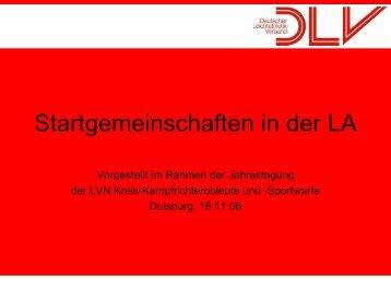 Startgemeinschaften - LVN-Kreis Düsseldorf/Neuss