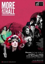 Download September - December 2013 brochure - Royal Albert Hall