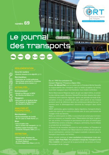 Le Journal des Transports - N°69 - ORT PACA