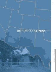 BORDER COLONIAS - Housing Assistance Council