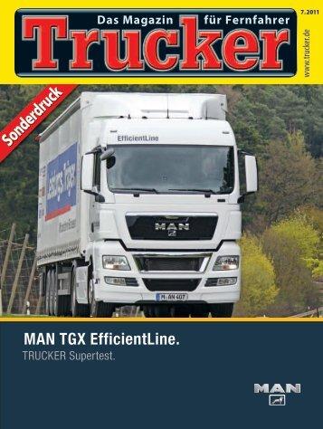 Trucker Supertest - Transport efficiency