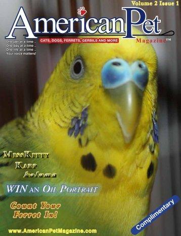 American Pet Magazine = AmericanPetMagazine.com