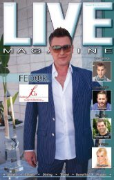 LIVE MAGAZINE VOL 8, Issue #197 November 28th THRU December 12th, 2014