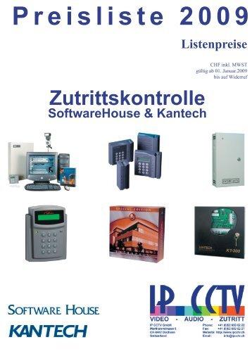 Preisliste 2009 - IP CCTV GmbH