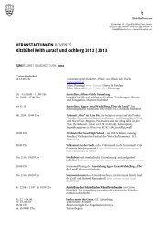 Veranstaltungen & Events in Kitzbühel