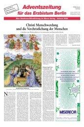 Adventszeitung - Morus Verlag