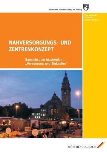 Nahversorgungs- und Zentren-Konzept - Stadt Mönchengladbach