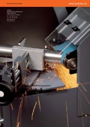 GRIT – The brand for belt grinding from FEIN - Ambitex
