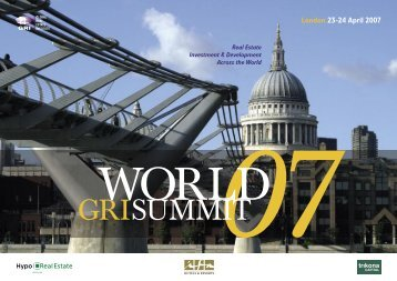 GRISUMMIT - Global Real Estate Institute