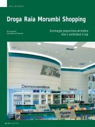 Droga Raia Morumbi Shopping - Lume Arquitetura