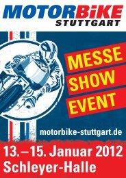 BIKER-PARTY Die Messe-Schwerpunkte - Motorbike Stuttgart