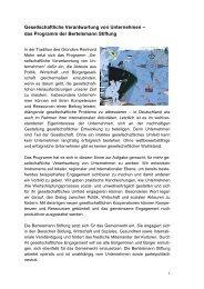 unsere Publikationen auf einen Blilck - Unternehmen für die Region