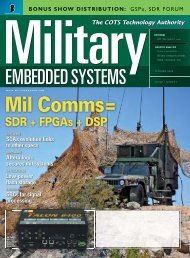 Military Embedded Systems - Fall 2005 - Volume 1 Number 2