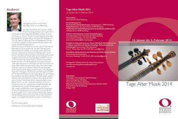 Flyer (PDF) - Hochschule für Musik Nürnberg