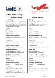 REMOPLAST HS-KST Rapid