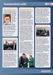 Infobrief - Ausgabe 05/12 - Carsten Linnemann