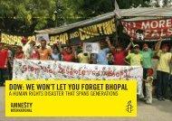 postcard - Amnesty International