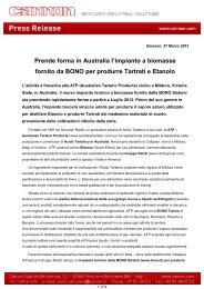 Download Press Release - Bono Group