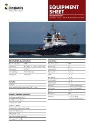 Anchor handling tug (AHT) - Boskalis Area Middle East