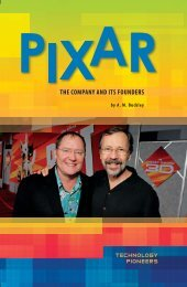 PIXAR: The Company and Its Founders - Sharyland ISD