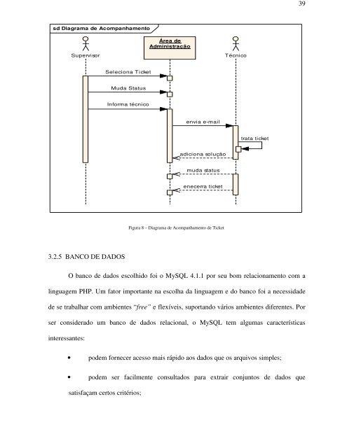 sistema para acompanhamento de correção de falhas na rede