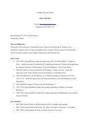 Olivier CV english - IFEA