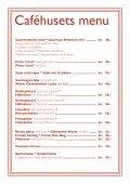 Caféhusets menu - Middelaldercentret - Page 2