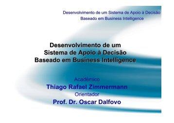 Business Intelligence - Projeto Pesquisa - Furb