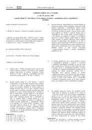 NAŘÍZENÍ KOMISE (ES) č. 1535/2007 ze dne 20 ... - EUR-Lex