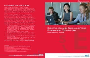 BSECETProgramBrochures - ITT Technical Institute