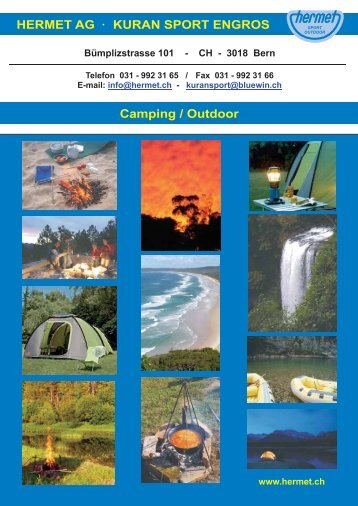 HERMET AG KURAN SPORT ENGROS Camping / Outdoor
