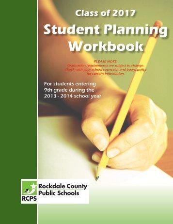 Student Planning Workbook - Rockdale County Public Schools