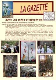 gazette 2007 - L'association des Amis de Saint Colomban