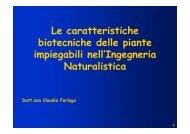 PDF (Le caratteristiche biotecniche delle piante impiegabili nell ...